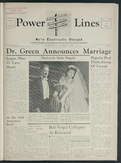 Power Lines: Tower Times (December 19, 1941)