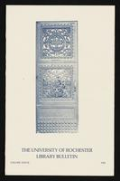 University of Rochester Library Bulletin, v. 37