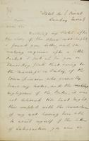 Letter from Moncrieff to Moore, 1829