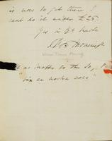 p.3 Letter from Moncrieff to Elliston, 1821