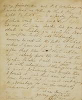 p.4 Letter from Moncrieff to Elliston, 1818