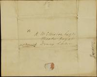 p.6 Letter from Moncrieff to Elliston, 1821