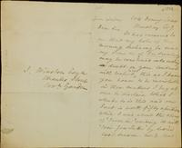Letter from Moncrieff to Winston, 1824