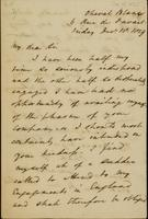 p.1 Letter from Moncrieff to Moore, 1829