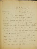 p.1 Letter from Moncrieff to Winston, 1820