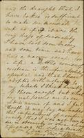 p.3 Letter from Moncrieff to Elliston, 1818