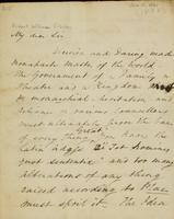 p.1 Letter from Moncrieff to Elliston, 1821