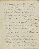 p.2 Letter from Moncrieff to Elliston, 1821