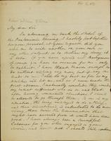 Letter from Moncrieff to Elliston, 1819