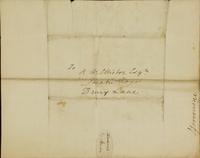 p.4 Letter from Moncrieff to Elliston, 1819
