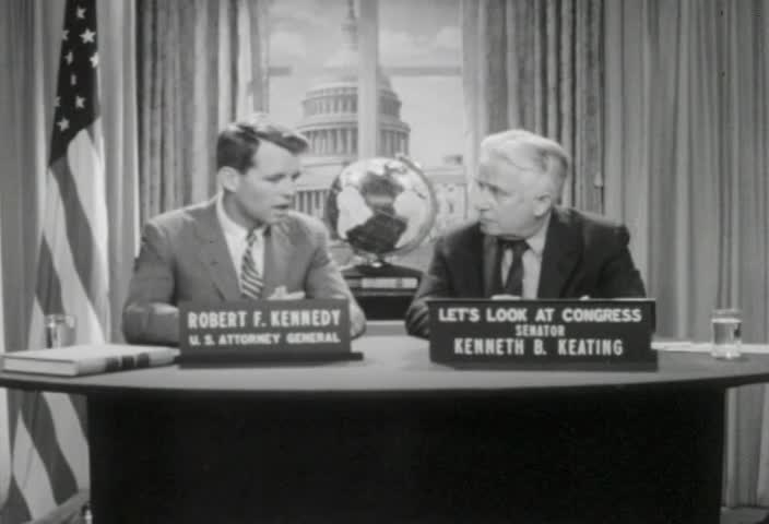 Interview of the Honorable Robert F. Kennedy, Attorney General of the United States, by Senator Kenneth B. Keating, Sunday, March 19, 1961