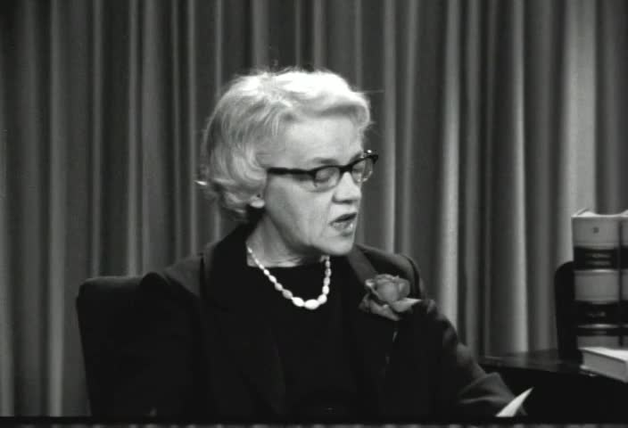 Interview with Senator Margaret Chase Smith (R., Me.) by Senator Kenneth B. Keating, Sunday, April 21, 1963