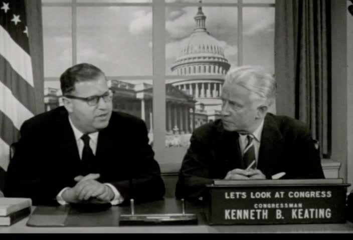 Interview of Honorable Abba Eban, Israeli Ambassador to the United States, by Rep. Kenneth B. Keating over Station WHAM-TV, Rochester, New York and Station WBEN-TV, Buffalo, New York