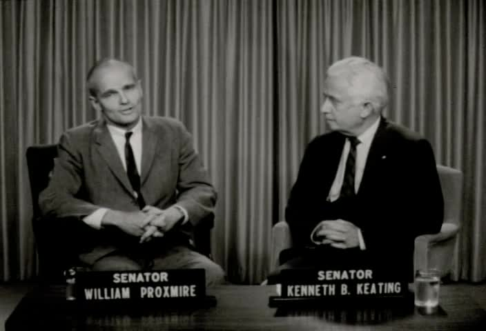 Interview with Senator William Proxmire (D., Wis.) by Senator Kenneth B. Keating, Sunday, July 26, 1964