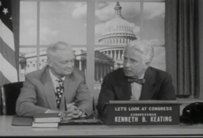 Interview of Honorable Sherman Adams, Assistant to the President, by Senator Kenneth B. Keating, Sunday, May 12, 1957