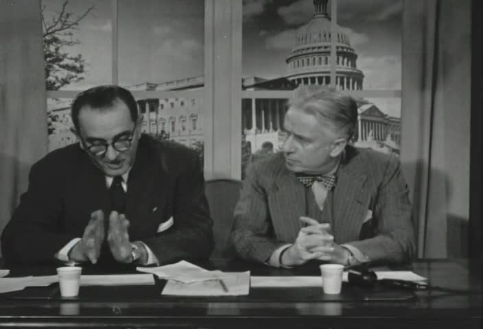 Interview of Senator Lyndon B. Johnson (D., Texas), by Senator Kenneth B. Keating, on Station WHAM-TV, Rochester, New York, April 2, 1953, at 6:45 P.M.