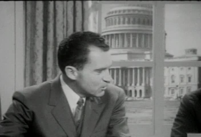 Interview of the Honorable Richard M. Nixon, Vice President of the United States, by Senator Kenneth B. Keating, Sunday, June 29, 1958