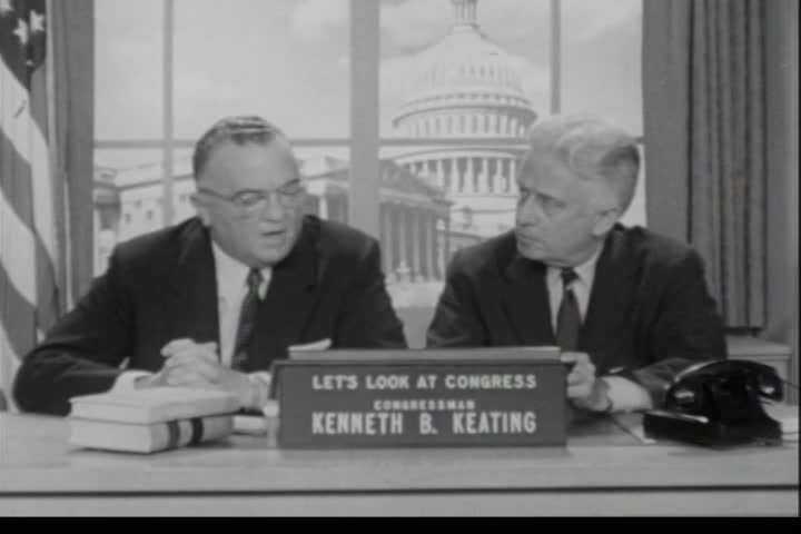 Interview of Honorable J. Edgar Hoover, Director of the Federal Bureau of Investigation, by Rep. Kenneth B. Keating, Sunday, July 22, 1956