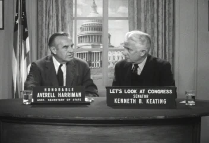 Interview of the Honorable Averell Harriman, Assistant Secretary of State for Far Eastern Affairs, by Senator Kenneth B. Keating, Sunday, May 6, 1962