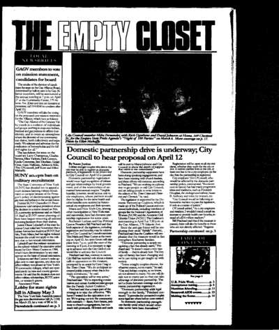 Empty Closet, no. 257 (April 1994)