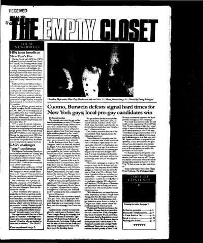 Empty Closet, no. 265 (December 1994)