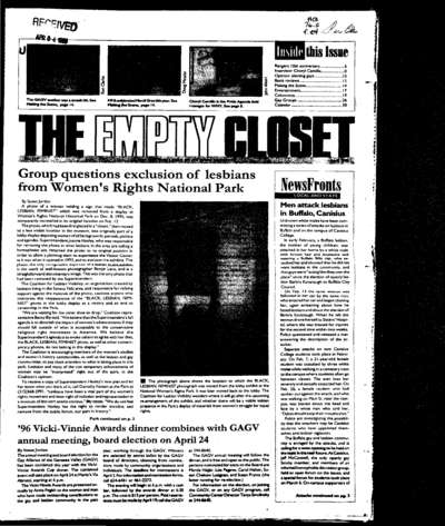 Empty Closet, no. 279 (April 1996)