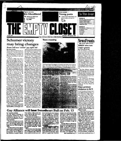 Empty Closet, no. 309 (December 1998)