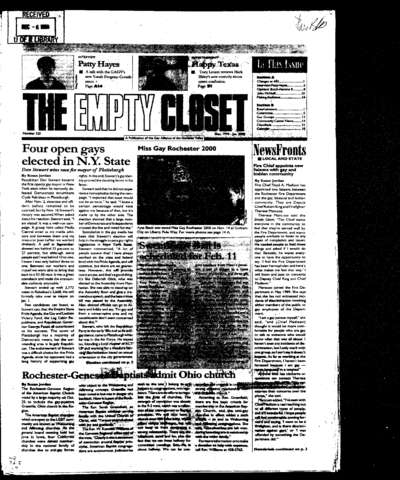 Empty Closet, no. 320 (December 1999)