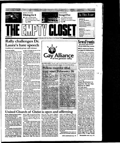 Empty Closet, no. 330 (November 2000)