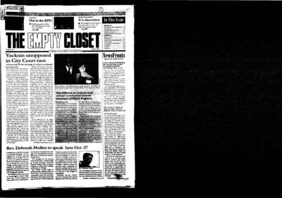 Empty Closet, no. 351 (October 2002)