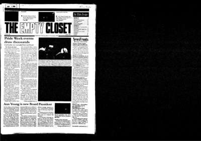 Empty Closet, no. 360 (August 2003)