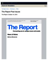 The Report (October 10, 2016)