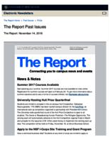 The Report (November 14, 2016)