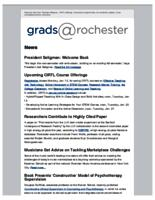 Grads @Rochester (January 11, 2015)