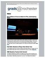 Grads @Rochester (September 6, 2015)