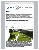 Grads @Rochester (September 20, 2015)