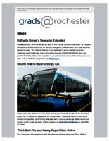 Grads @Rochester (September 27, 2015)