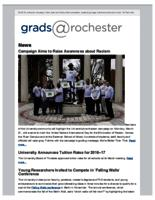 Grads @Rochester (March 20, 2016)