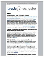 Grads @Rochester (May 1, 2016)