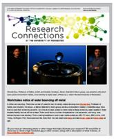 Research Connections (January 30, 2015)
