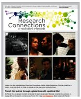 Research Connections (March 13, 2015)