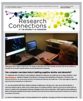 Research Connections (September 25, 2015)
