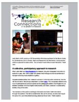 Research Connections (November 13, 2015)