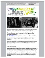 Research Connections (November 20, 2015)
