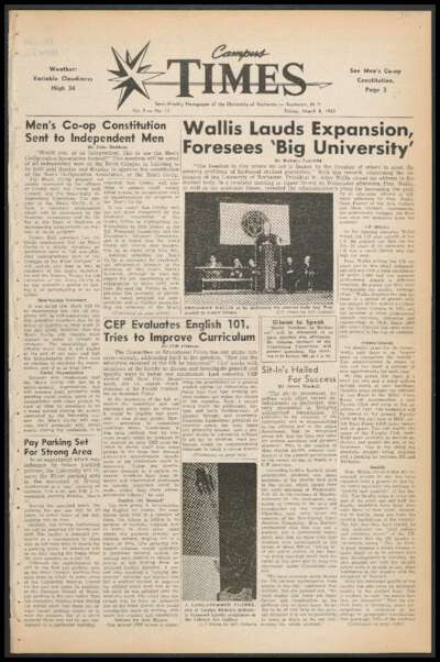 Campus Times (March 08, 1963)