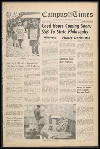 Campus Times (March 02, 1965)