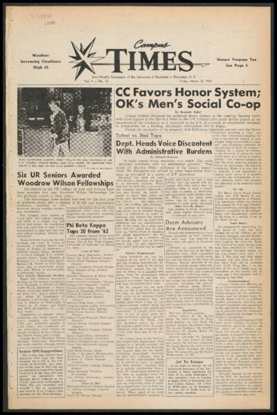 Campus Times (March 15, 1963)