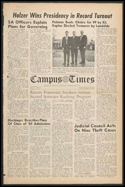 Campus Times (February 26, 1965)