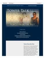 Tower talk (September, 2015)
