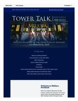 Tower talk (October, 2015)